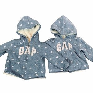 Gap Fleece Lined Sweater